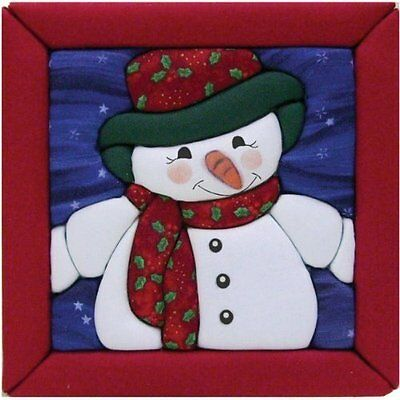 Quilt Magic 6-Inch by 6-Inch Kit, Snowman