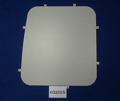 Van Guard Tailored Fit Rear Window Security Blank for Transit Connect (02-14)