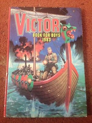 THE VICTOR BOOK FOR BOYS ANNUAL 1983 Excellent Condition