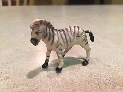 Vintage Marx Toy Animal Kingdom Zebra figure - in very good condition