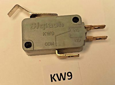 KW9 B-I qiaoh simulated roller actuated snap-action10 Amp safety limit switch