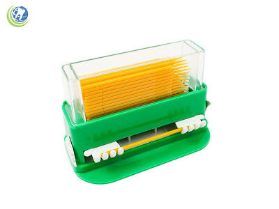 Dental Disposable Micro Applicator Tip Brush Dispenser With 100 Applicators