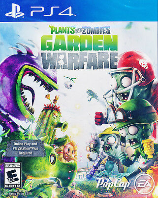 Plants Vs Zombies Garden Warfare - PS4 Game - BRAND NEW SEALED