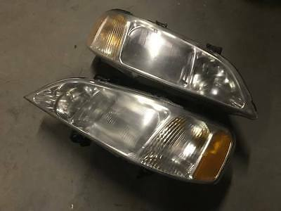 1999 2000 2001 Acura TL 3.2 Xenon HID Headlights Left & Right D2S CDM OEM Pair