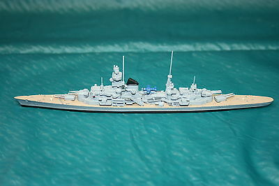 Waterline 1250:1 scale DGM model S195 Prinz Eugen