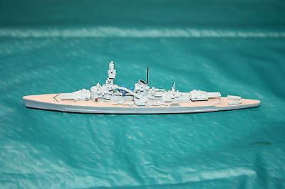 Waterline 1250:1 scale DGM model S116 Heavy Cruiser Lutzow