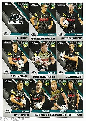 2017 NRL Traders Penrith PANTHERS Team Set
