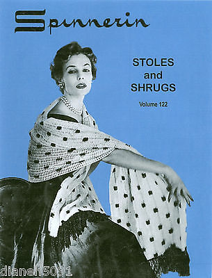 Womens Stoles And Shrugs Knitting Crochet Pattern Book
