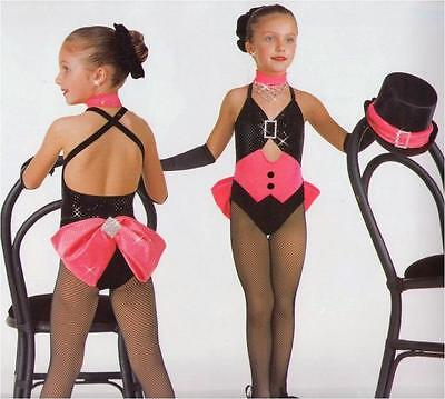 Performer Dance Costume Leotard, Shorts and Gloves Circus Band Child X-Small