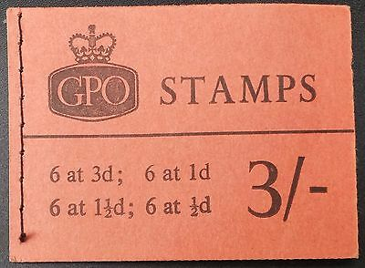 May 1965 3/- booklet SG M74 cat £55
