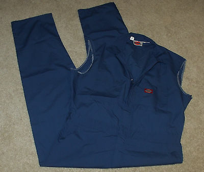 Dickies Mens Sleeveless/Muscle Coveralls/Jumpsuit/Work Overalls/Uniform-Blue-44
