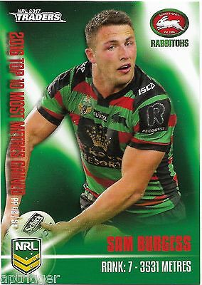 2017 NRL Traders Pieces of the Puzzle (PP 42/54) Sam BURGESS Rabbitohs