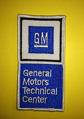 Rare Vintage 1970's General Motors GM Technical Center Car Club Jacket Hat Patch