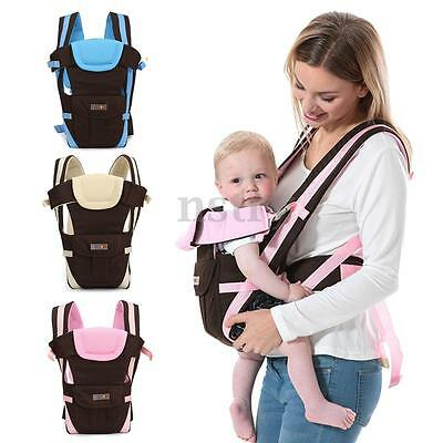 Adjustable Breathable Ergonomic Infant Baby Carrier Wrap Sling Newborn Backpack