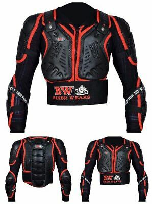 Kids Cub Body Armour Motorcycle Motorbike Motocross Back Protector Guard Jacket.