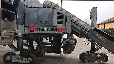 Power Curbers 5700-B With Extra Mules and Manuals
