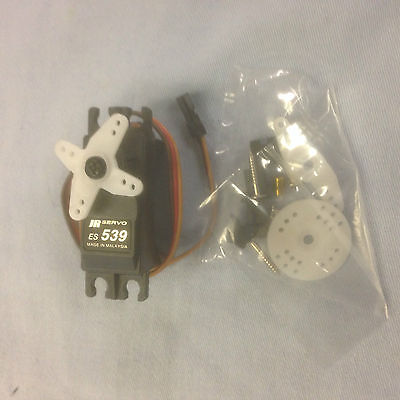 JR ES539 High Neutral Standard Analog Servo 4.8kg / 0.23sec‎, UK Model shop