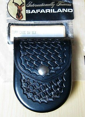 Safariland Model 90 Handcuff Pouch Case Basketweave Black New