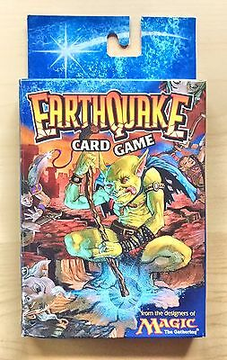 "Complete Rare MAGIC Game: ""EARTHQUAKE"" (Wizards, 1998)"