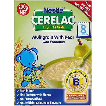 Nan Cerelac Infant Pear Cereal 200G NEW Cincotta Chemist