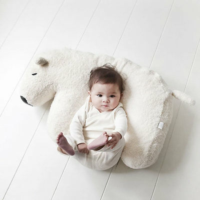 Nanami Nanook Baby Breastfeeding Feeding Support Pillow Cushion Polar Bear BN