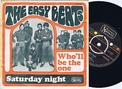 THE EASYBEATS Who'll Be The One Norwegian 45PS 1967
