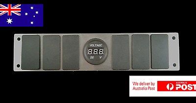 Rocker Switch BLANKING PLATE SUIT CARLING ARB NARVA SWITCHES 4X4 Blank Panel New