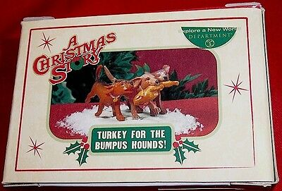 Dept 56 Retired 2006 A Christmas Story Turkey For The Bumpus Hounds New In Box