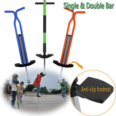 New Master Pogo Stick Kids & Adult Outdoor Spring Jump Bounce Toy Multicolor UK