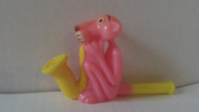 Pink Panther Plastic Bubble Blower Vintage Classic Toy
