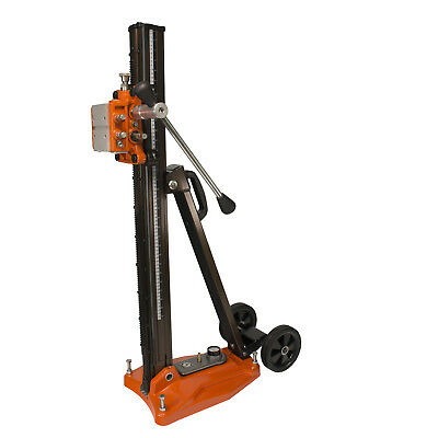 Cayken 580F Aluminum Diamond Core Drill Rig Stand with Vacuum Plate and Wheels