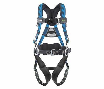 Miller Large / Extra Large AirCore Harness, Front D-ring, Aluminum Hardware