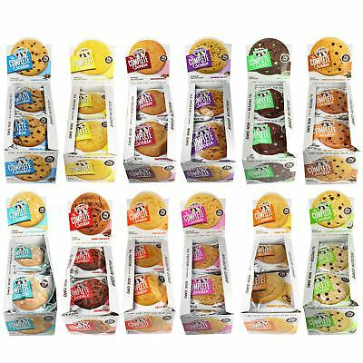 Lenny & Larry Box 12 x Complete Cookie Vegan Protein Cookie All Flavours & Mixed