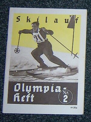 OLYMPICS 1936  Booklet  No. 2. - Skiing.