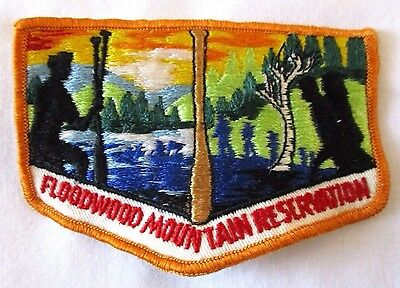 Vintage Northern NJ Council NNJC Camp Floodwood Mountain Reservation Patch