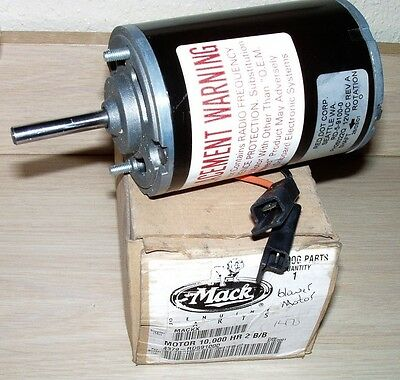 Mack Part # 4379-RD591000 Blower Motor for 99-00 CX and Vision Models NEW!