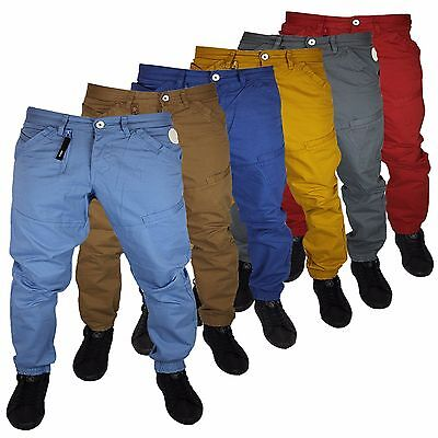 Small Kids Boys Junior Designer Zico Cuffed Chinos Mjt27 Sizes 2-3 3-4 5-6 7-8