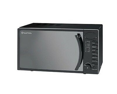 Russell Hobbs 17L Black Digital Microwave 5 Power Levels 700W Rhm1714B