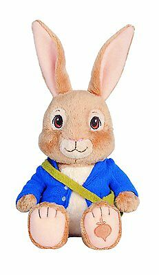"""Nickelodeon 7"""" Peter Rabbit Plush Bean Bag Doll Easter Basket Toy New with Tag"""
