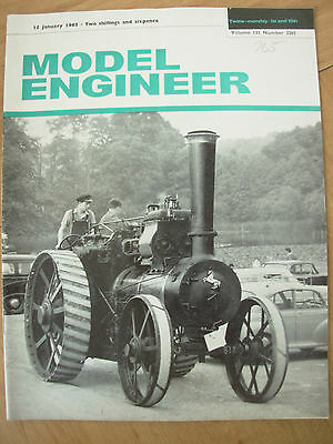 THE MODEL ENGINEER VINTAGE MAGAZINE JANUARY 15th 1965