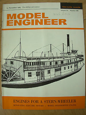THE MODEL ENGINEER VINTAGE MAGAZINE NOVEMBER 15th 1965