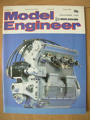 THE MODEL ENGINEER VINTAGE MAGAZINE MAY 1st 1981