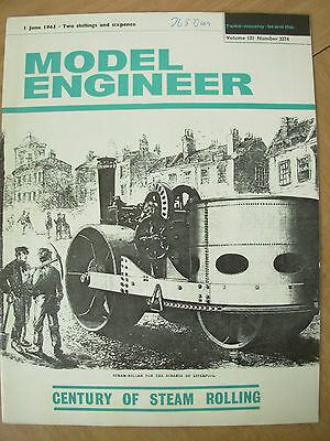 THE MODEL ENGINEER VINTAGE MAGAZINE JUNE 1st 1965