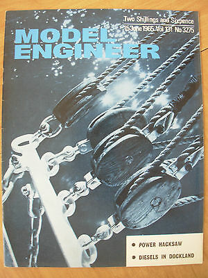 THE MODEL ENGINEER VINTAGE MAGAZINE JUNE 15th 1965