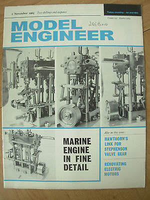 THE MODEL ENGINEER VINTAGE MAGAZINE NOVEMBER 1st 1965