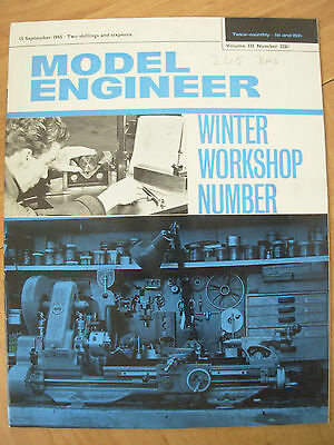 THE MODEL ENGINEER VINTAGE MAGAZINE SEPTEMBER 15th 1965