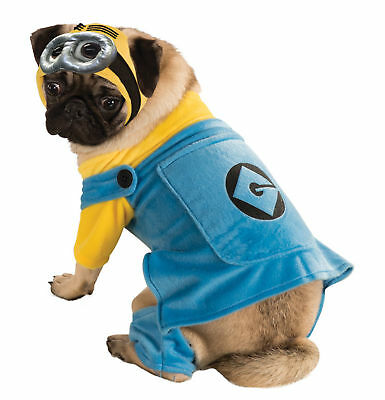 Minions Despicable Me Dog Costume –4 Sizes to Choose