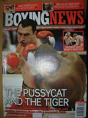 Boxing News 18 July 2008 Wladimir Klitschko Defeats Tony Thompson