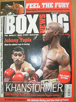 Boxing News 28 July 2011 Amir Khan Defeats Zab Judah