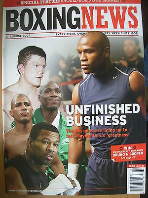 Boxing News 17 August 2007 Floyd Mayweather To Fight Ricky Hatton